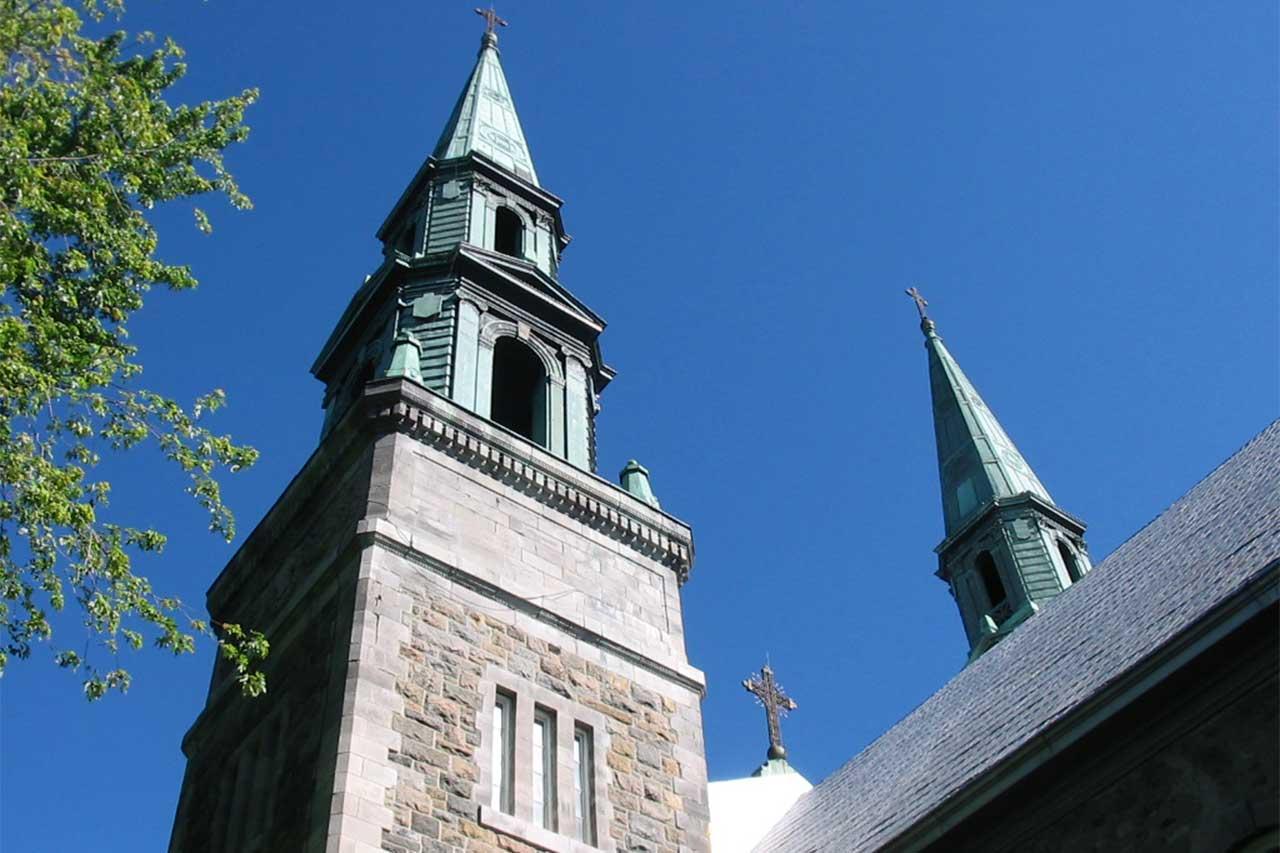 Clocher de l'église de Saint-Denis-sur-Richelieu